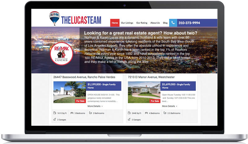 The Lucas Team Home Page